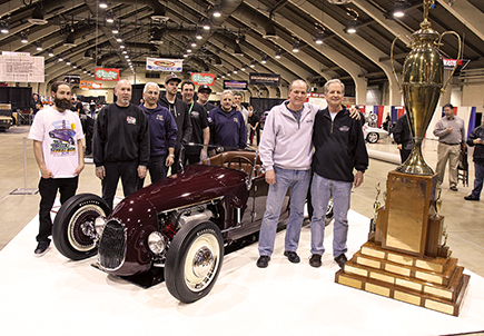 2013 America's Most Beautiful Roadster Winner John Mumford's 1927 Ford Roadster