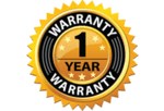 1 Year Warranty on Chimney Sweeping Equipment