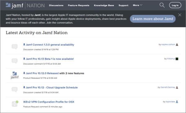 Jamf Nation Online Community