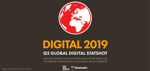 Hootsuite / We Are Social Digital 2019 Image