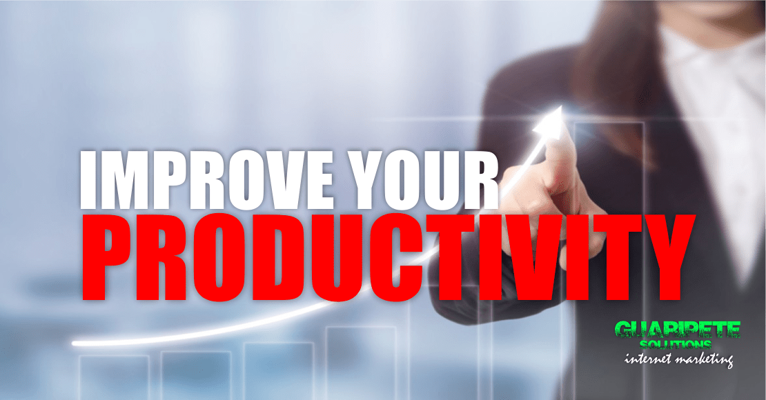 Improve Productivity Entrepreneurs Coaching