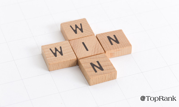 Win-win Scrabble tiles image.