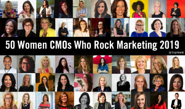 50 Women CMOs 2019