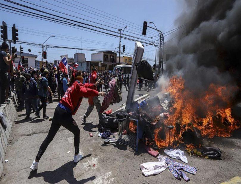 Chile investiga agresión a inmigrantes venezolanos