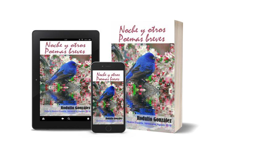 Libro Nuevo: Noche y Otros Poemas Breves de Rodulfo Gonzalez