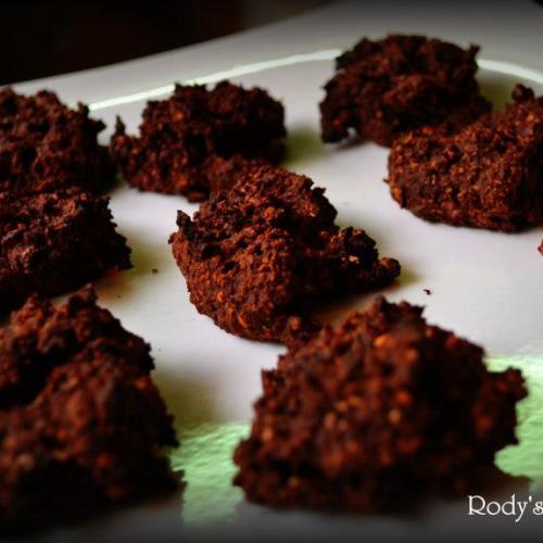 Chocolate Alien Cookies