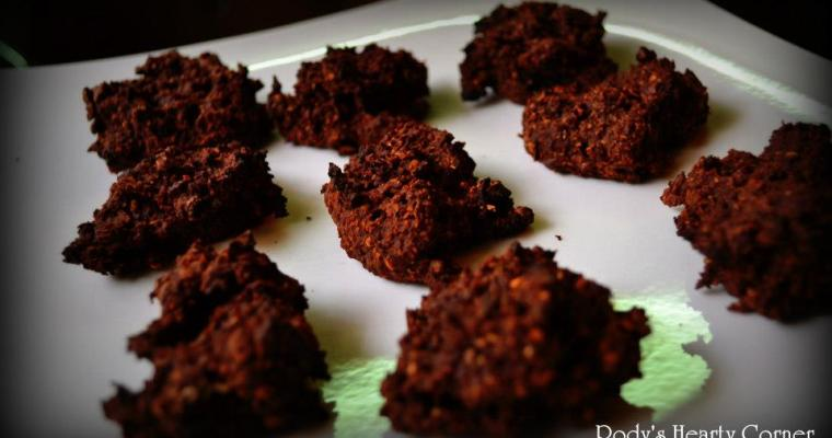 Chocolate Alien Cookies