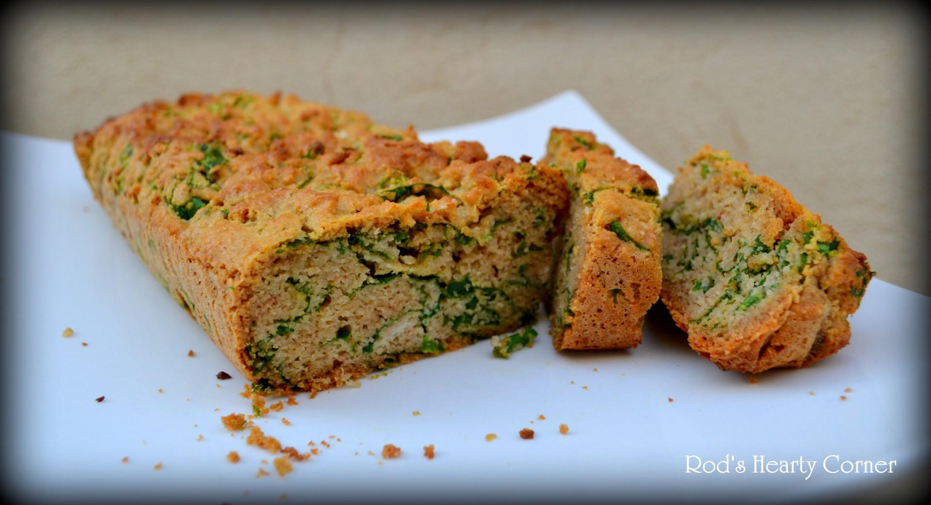 Spinach Bread (Gluten free)