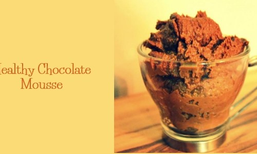 Healthy Chocolate Mousse