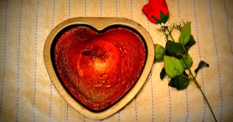 Valentines Coconut Cake