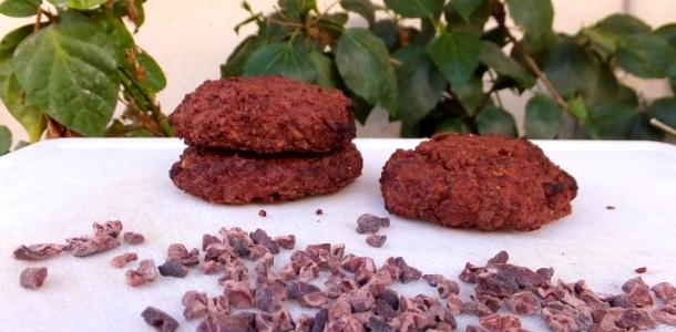 Quinoa Cocoa Nibs Cookies