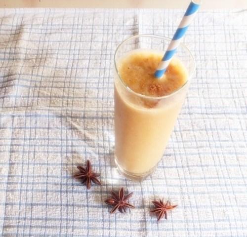 Creamy sweet potato smoothie