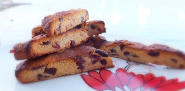 Easy Cranberry Biscotti