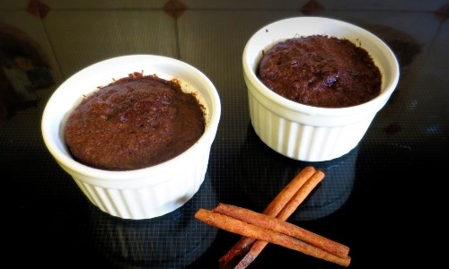 Three minute Paleo chocolate mug cake (gluten-free)