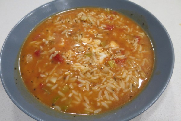 Aljotta fish soup with rice