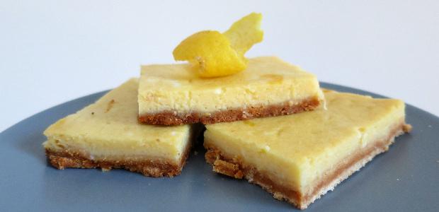 Lemon bars (Paleo & Gluten Free)