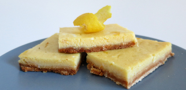 Lemon bars (Paleo & Gluten Free)