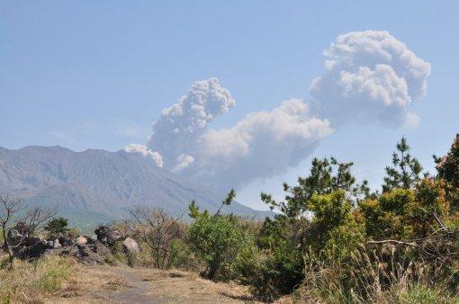 Wybuch wulkanu Sakurajima