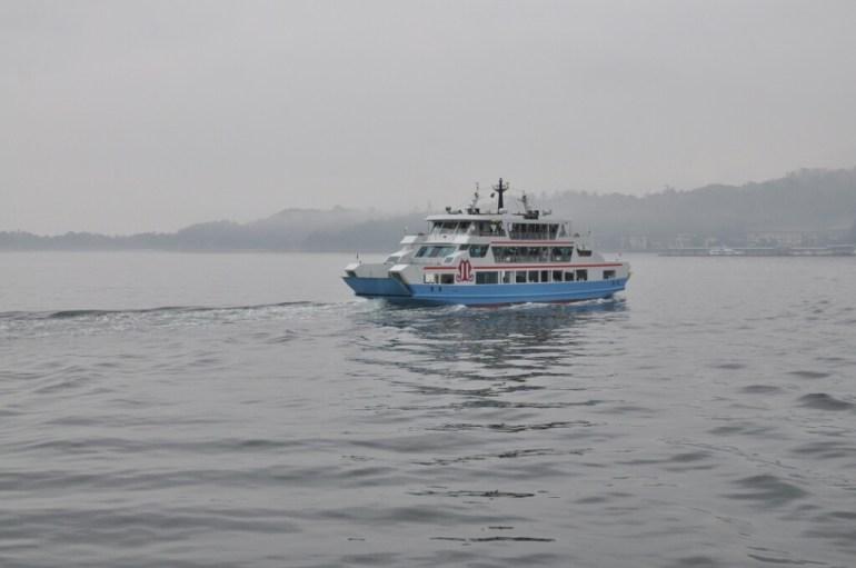 Prom do wyspy Mijayima