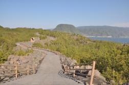 Szlak do punktu obserwacyjnego na wulkan Sakurajima