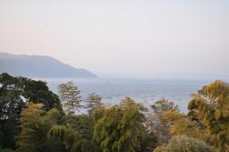 Widoki ze szlaku Nagisa Lava Trail
