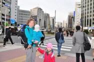 Tokyo tuż po wyjściu z dworca Gotanda Station