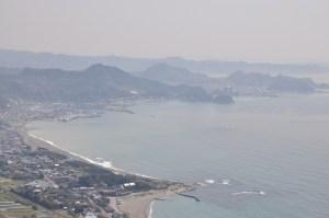 Widok na Zatokę Tokijską