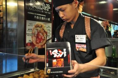 Tokoyaki - ośmiorniczki w cieście - pychota