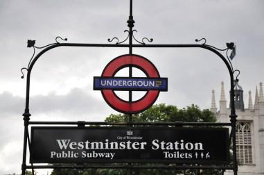 Metro w Londynie
