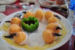 Dania na chińskim weselu