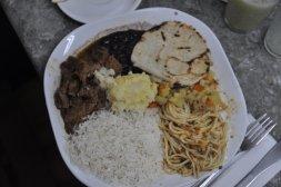 Typowe casado, czyli obiad w Kostaryce