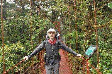 Mosty wiszące w Monteverde