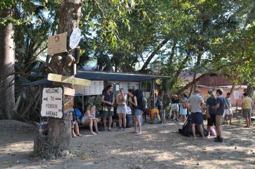 Przystanek autobusowy Montezuma