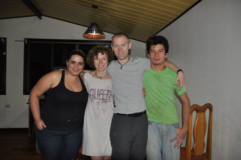 Nocleg w domu mieszkańców Monteverde