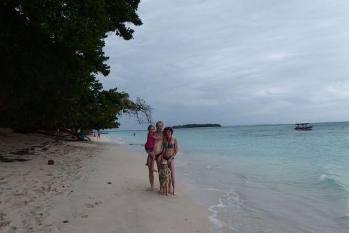 Cała Rodzinka na wyspie Zapatilla
