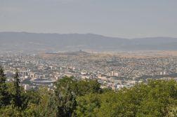 Tbilisi z góry