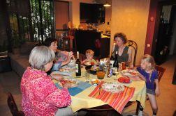 Nasza kolacja w Tbilisi