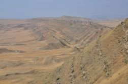 Panorama Aazerbejdżanu z Monastyru Udabno