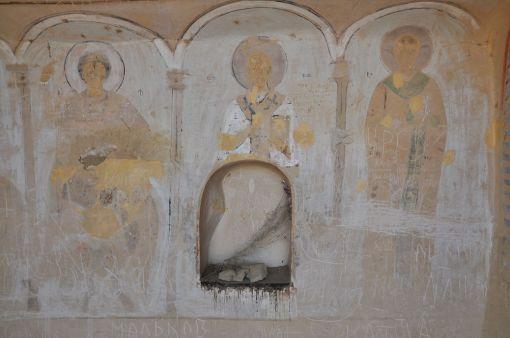 Freski w monastyrze Udabno