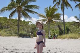 Oliwka na plaży w Miami