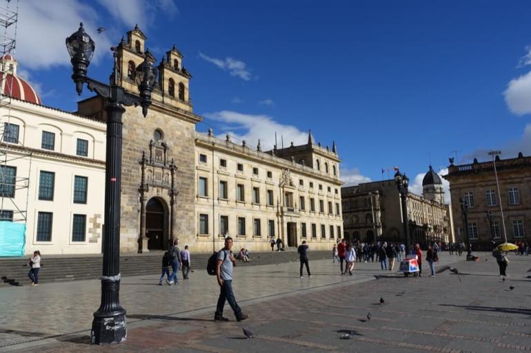 Głowny plac w Bogocie