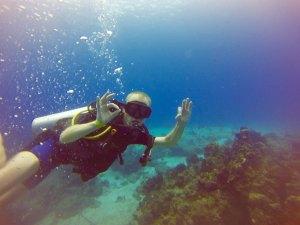 Podwodny Cozumel i nurkowanie