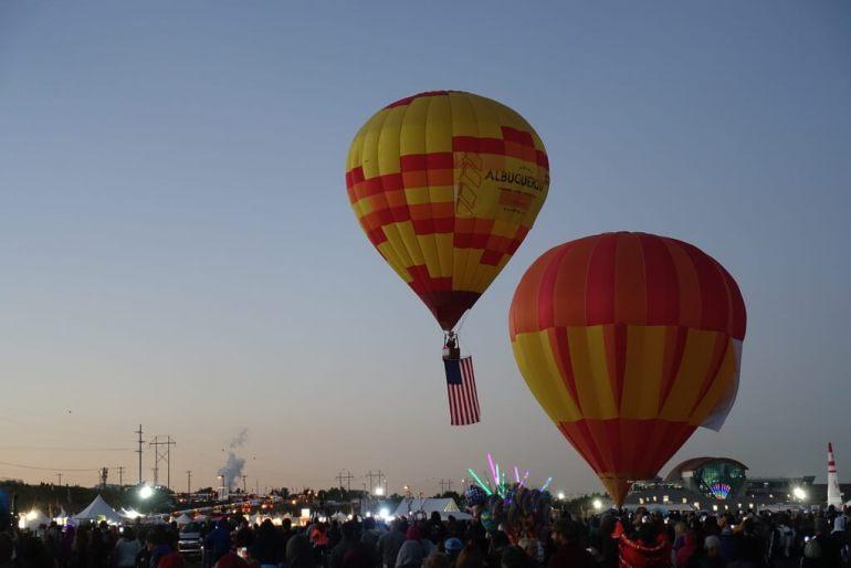 Balony w Albuquerque