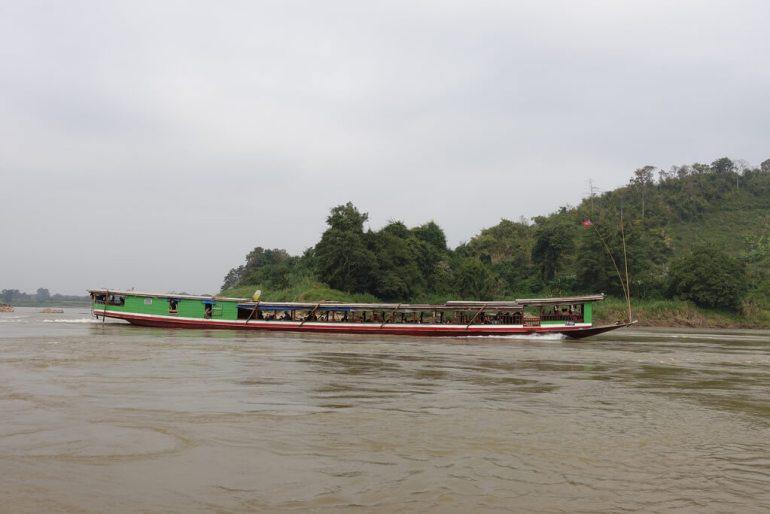 Łódź do Luang Prabang