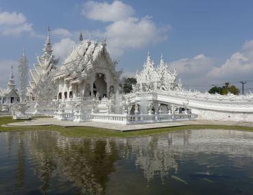 Biała Świątynia Wat Rong Khun