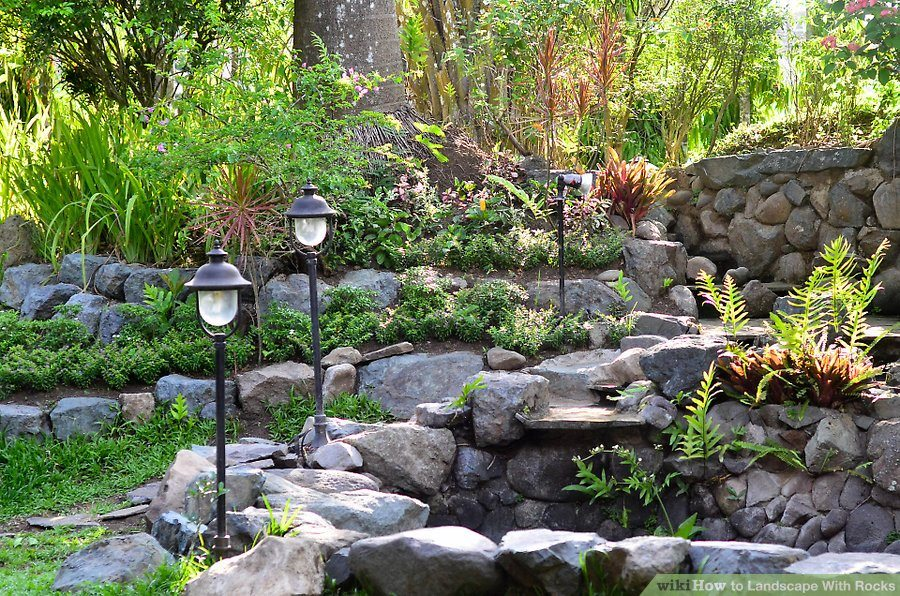 orlando landscaping with boulders and rocks roedell s landscaping