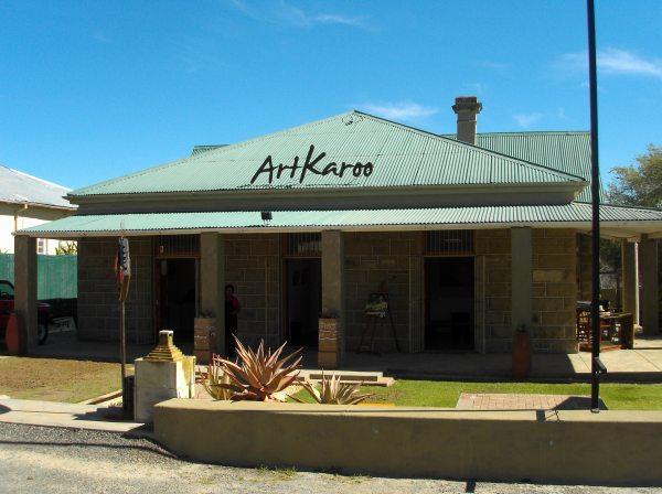ArtKaroo-galery in Oudtshoorn