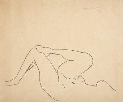 Nude, Étude de Jambes