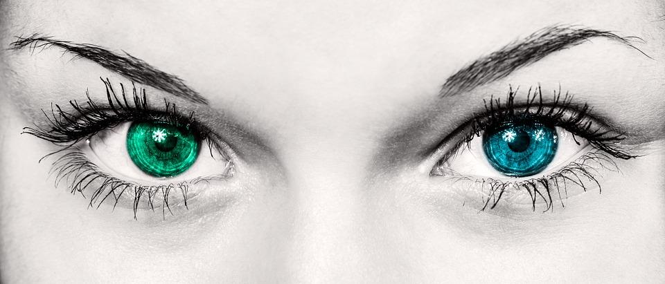 oog-vrou-iris