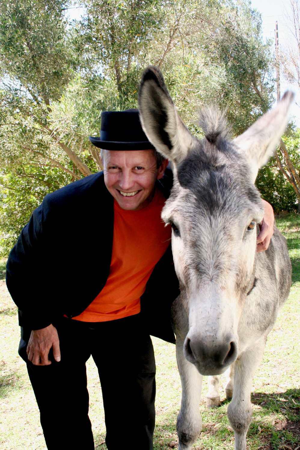 David Kramer en donkie